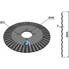 Coutre pour charrue Ø430x4 - Great Plains - 820-018C