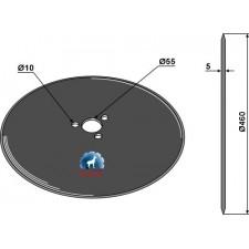 Coutre circulaire Ø460x5 - Kverneland - KK056112