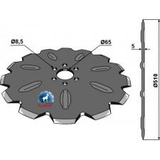 Coutre pour charrue Ø500x5 - Rabe - 7209.01.02