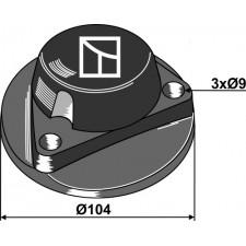 Chapeau de palier - Kverneland - 056156