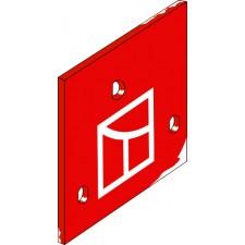Plaque intermediaire - Kverneland - KK063607