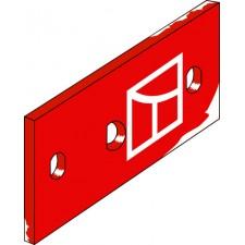Plaque intermediaire droite - Kverneland - KK063608
