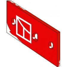 Plaque intermediaire gauche - Kverneland - KK063609