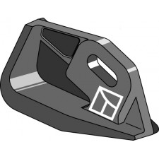 Talon en fonte droite - Kuhn - 763008