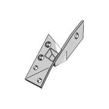 Bride de fixation pour pointe réversible droite - Överum - 84958 - 41658495809