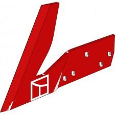 Aileron pour charrue Coutre droit - Vogel u. Noot - PK2.019.01