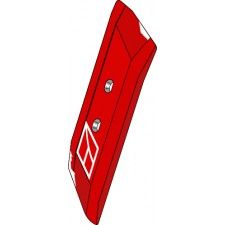 Pointe réversible 65x14 droite - Vogel u. Noot - PK8.011.01A