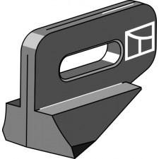Talon en fonte droite/gauche - Gassner - G12N