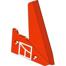 Aileron pour charrue Coutre gauche - Niemeyer - 026241