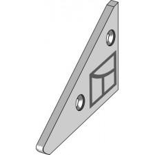 Nez de Contre-sep pour charrue droit - Fiskars - 950 03732