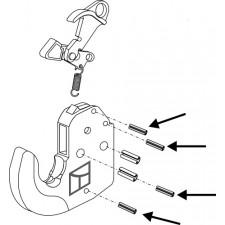 Goupille de serrage 4 pcs - AG010505