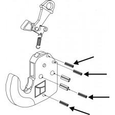 Goupille de serrage 4 pcs - AG010499
