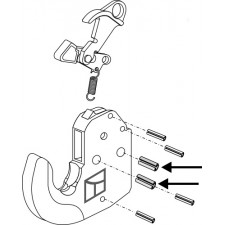 Goupille de serrage 2 pcs - AG010490