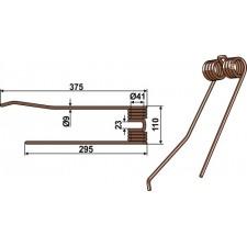 Dent de fenaison - Lely - 73 135R