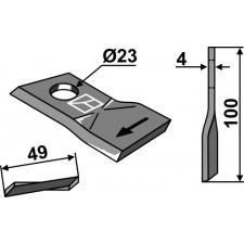 Couteau pour faucheuse - Mörtl - T684-R