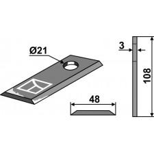 Couteau pour faucheuse - New Holland - 495.806