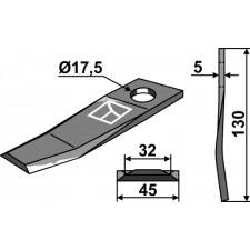 Couteau pour faucheuse - New Holland - 534.744