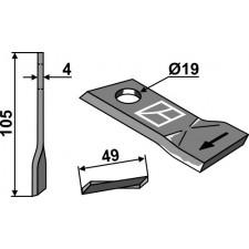 Couteau pour faucheuse - Niemeyer - 570444