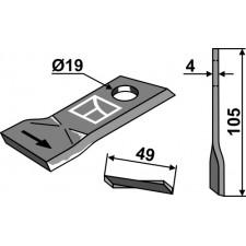 Couteau pour faucheuse - Niemeyer - 570445