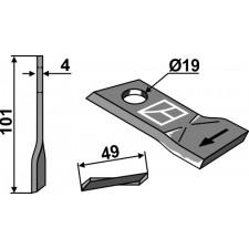 Couteau pour faucheuse - Niemeyer - 570446