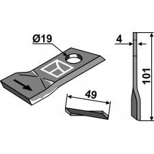 Couteau pour faucheuse - Niemeyer - 570447