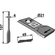 Couteau pour faucheuse - Pöttinger - 434972