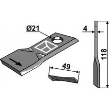 Couteau pour faucheuse - Pöttinger - 434975