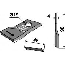 Couteau pour faucheuse - SIP - 151.171.311