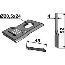 Couteau pour faucheuse - JF - 13800021