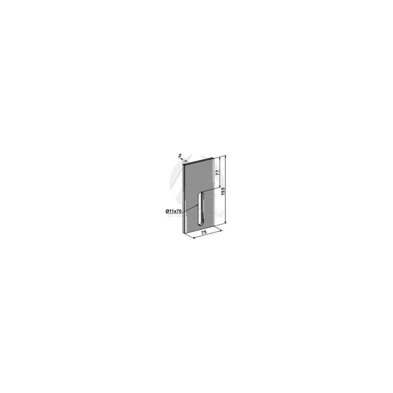 Racloir pour rouleaux packer - POttinger - 435.780