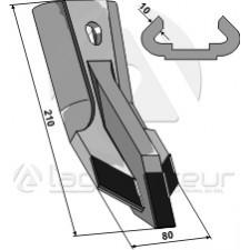 Pointe interchangeable - Carbure - Gregoire Besson - M340057