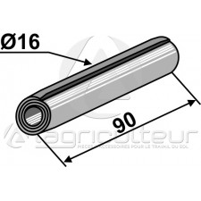 Goupille de serrage D16x90 - AG004416