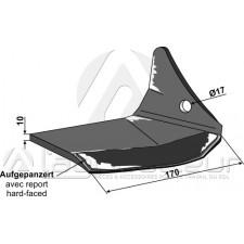 Soc à ailettes - droite - POttinger - 9762500240
