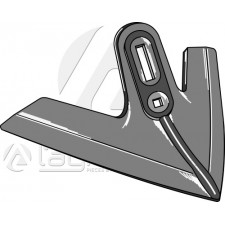 Soc triangulaire, abaissé ouvragé modèle - Kockerling Vario - 506013