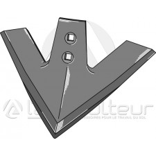 Soc triangulaire, modèle laminé - Kockerling Quadro-Triomix - 506013