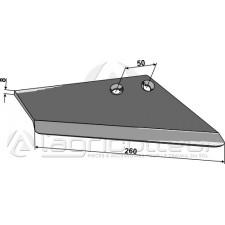 Aileron de rechange pour socs à ailette, droit - Rau - S 004 102