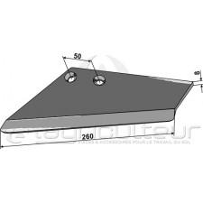 Aileron de rechange pour socs à ailette, gauche - Rau - S 004 103