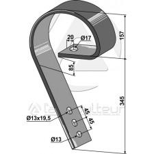 Dent niveleuse - AG004112