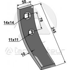 Pointe pour socs à ailette - Rabe - GG-251 6343.30.03