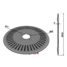 Disque de semoir D520x5 - overum - 80663