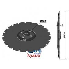 Disque de semoir D430x5 - Vaderstad - 444687 - 459608