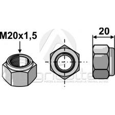 Écrou hexagonal à freinage interne - M20x1,5 - 10.9 - Maschio - F01230258