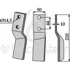 Dent rotative, modèle droit - Maschio - 24100414