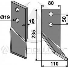 Dent rotative, modèle gauche - Universel - AG014385