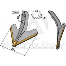 Soc triangulaire 200mm - Carbure - Kockerling - 504032