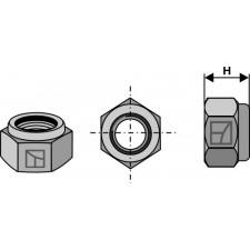 Écrou hexagonal à freinage interne - M16x1,5 - 8.8 - Maschio / Gaspardo - 00553526