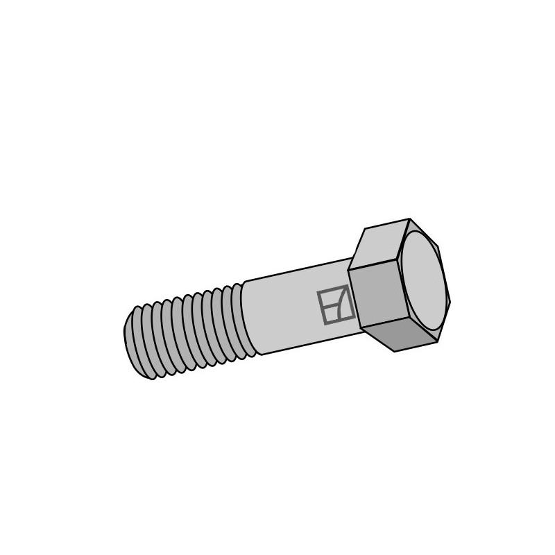 Boulon à tête hexagonale avec filet fin - M12x1,25X40 - 12.9 - Amazone - 0349100