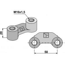 Écrou à panier - M16x1,5 -50 - Maschio / Gaspardo - 38100218