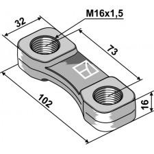 Écrou à panier - M16x1,5 - Lemken - 4598601