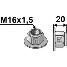 Écrou à embase à freinage interne M16x1,5 - 10.- Polystop - Amazone - DE223 / 0663200